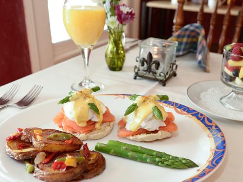 Gourmet Breakfast Beechwood Manor Inn